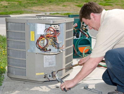Absolute Air Technician Working